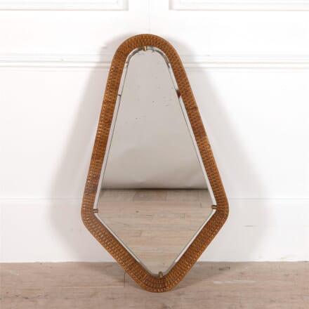 Large Rattan Framed Mirror MI3062188