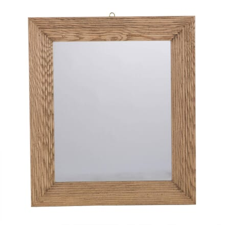 Contemporary Carved Oak Mirror MI013618