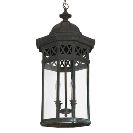 20th Century Bronze Lantern LL237511