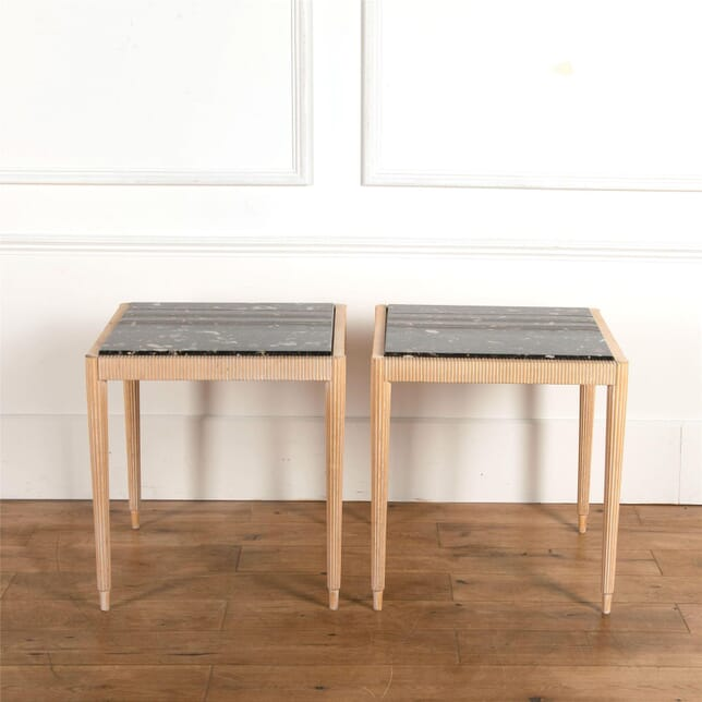 Pair of 20th Century Reeded Tables TC637066