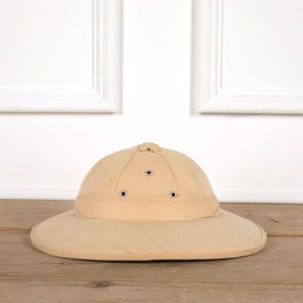 """Old Sun Helmet """"Topi"""" from Africa DA4461569"""