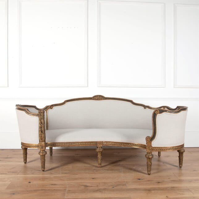 Rare 18th Century French Corbeille Sofa SB5861545