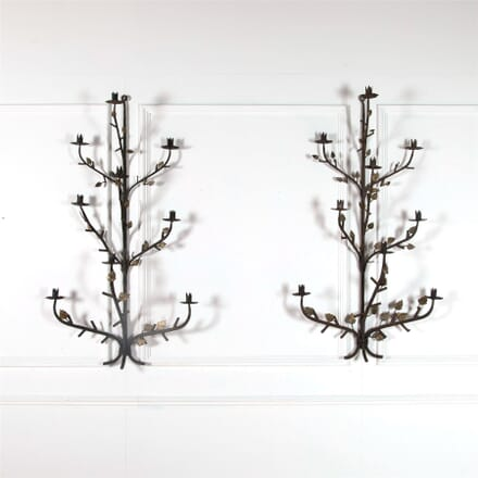 Large Italian Iron Wall Lights LW9262400