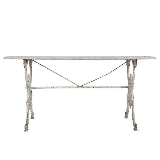 19th Century Carrara Marble Topped Table TC3755079