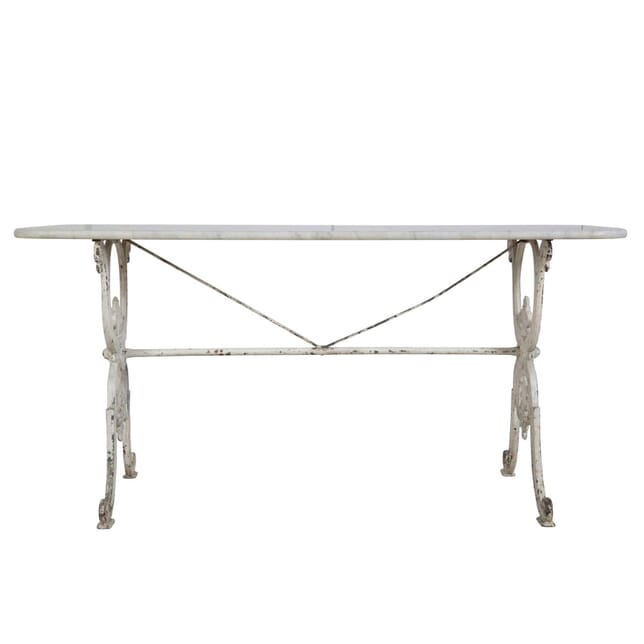 19th Century Carrara Marble Topped Table TC3755079