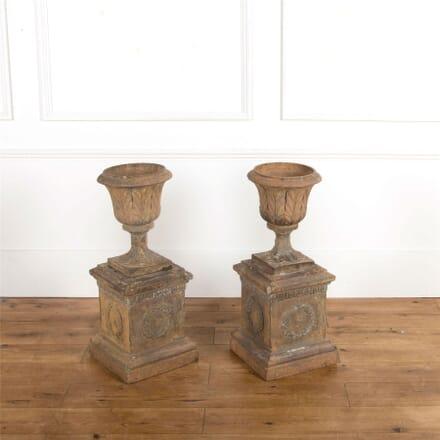 Pair of Italian Terracotta Urns DA737094