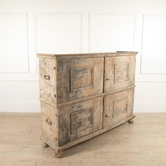 18th Century Italian Campaign Chest on Chest CU4461564