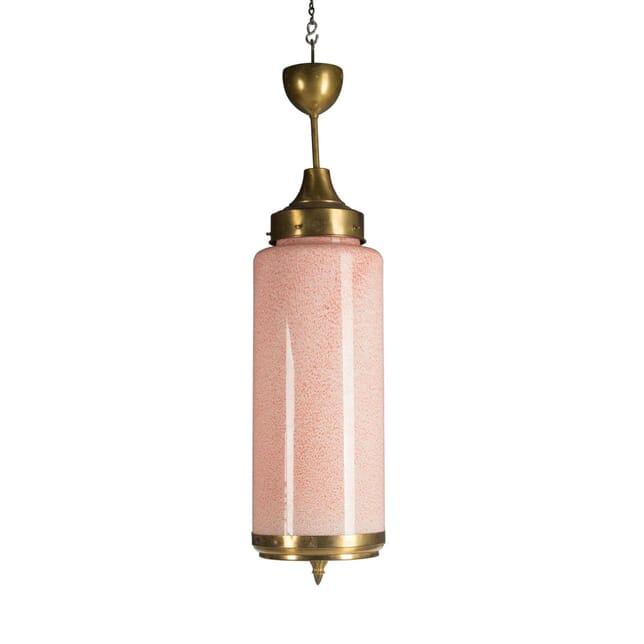 1930s Murano Vistosi Pendant Ceiling Light LC5756358
