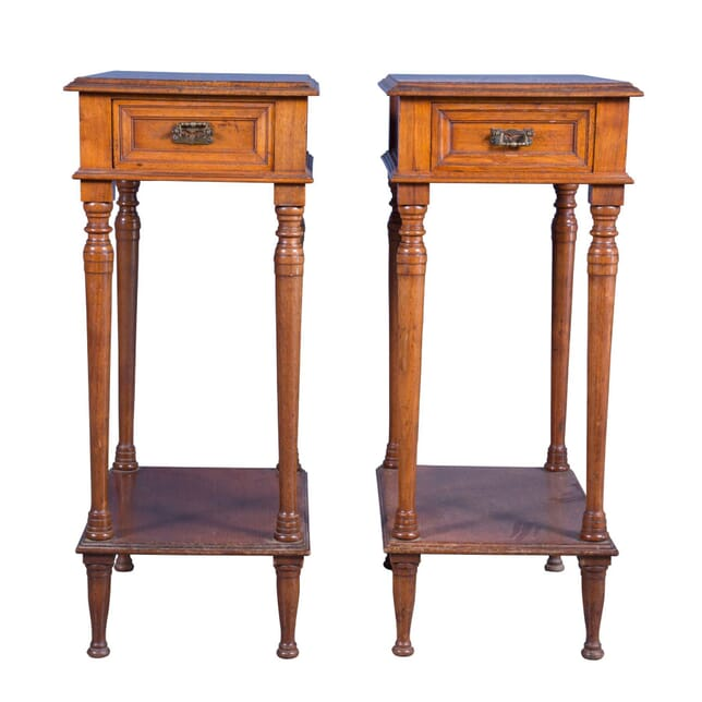 Pair of 19th Century Howard and Sons Lamp Tables TS1059343