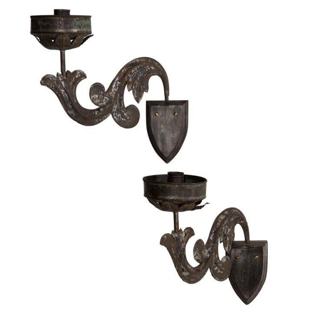 Pair of Candle Wall Lights LW204635