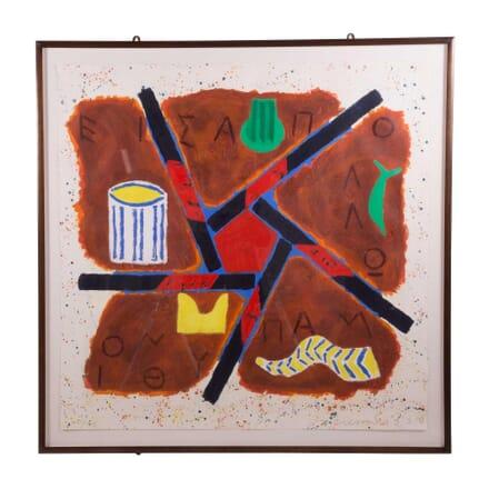 Joe Tilson 'Apollo Pythion' WD5759521