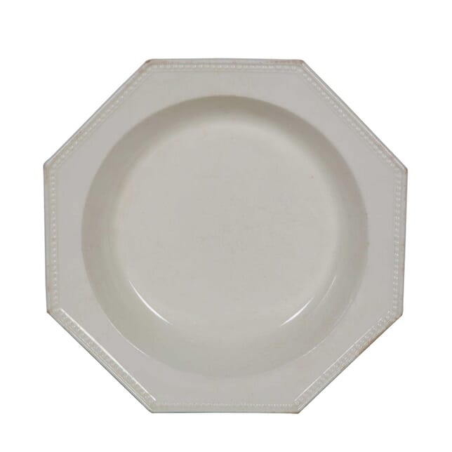19th Century Creamware Serving Dish DA0155557