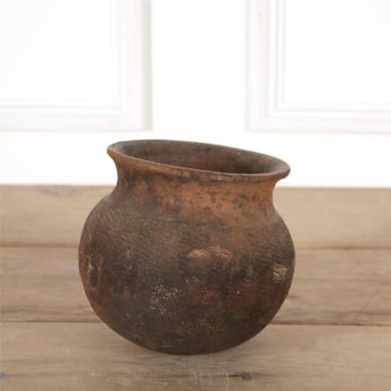 Early 20th Century Terracotta Cooking Pot DA997388