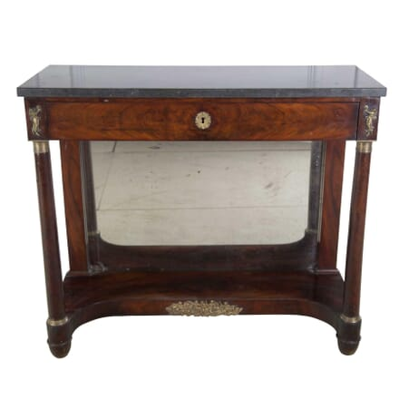 Mahogany Console Table CO3956863