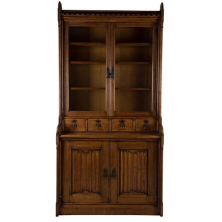 AWN Pugin Oak Bookcase BK1011196