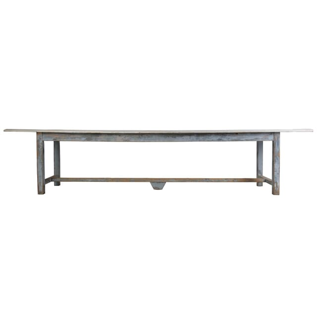Long French Dining Table c 1880 TD449725