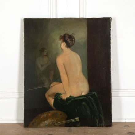 19th Century Female Nude Painting WD157728