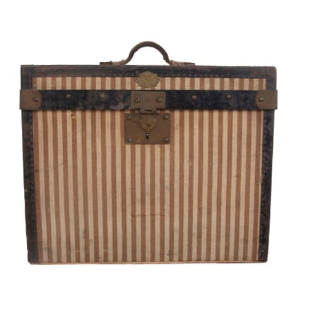 Small Striped French Vintage Trunk DA2960552