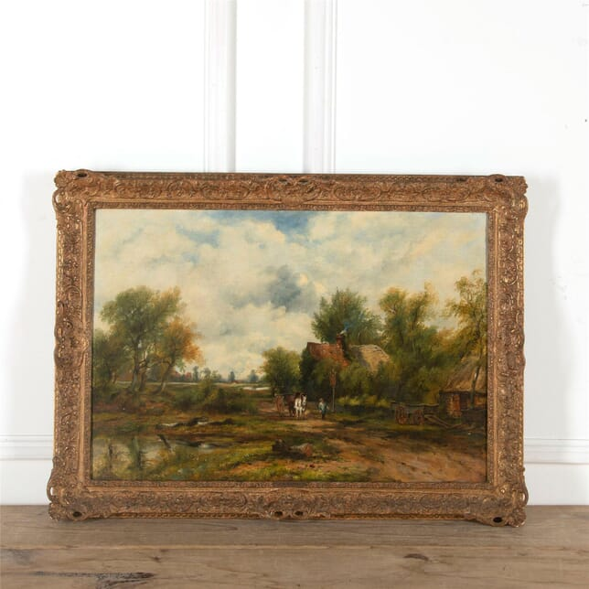 F W Watts Painting - Horse and Cart WD2862088