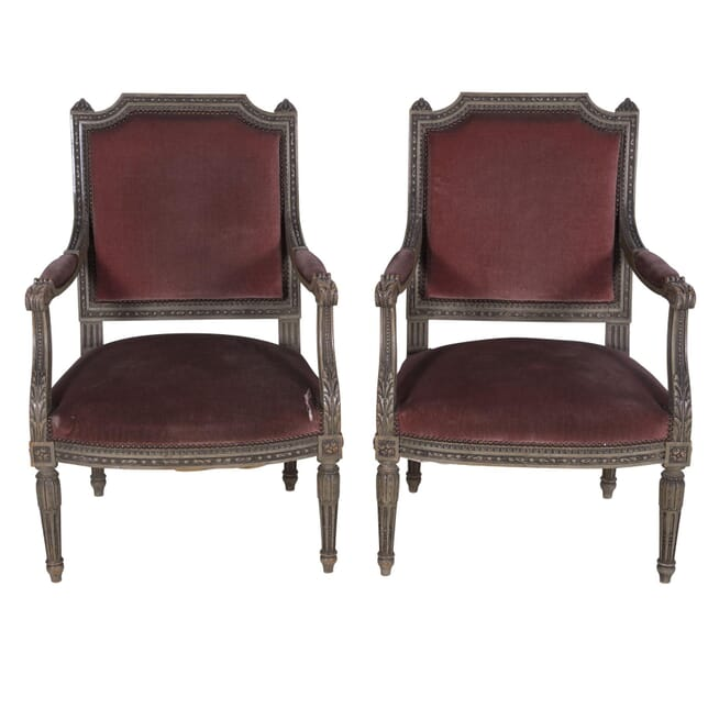 Pair of French Armchairs CH7260182