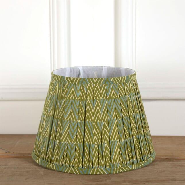 30cm Green & Blue Silk Lampshade LS6661381