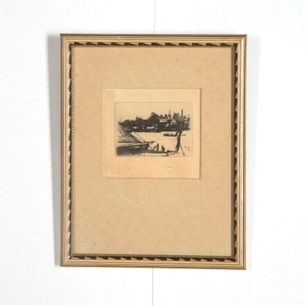 Theodore Roussel - Battersea from Chelsea Etching WD287566