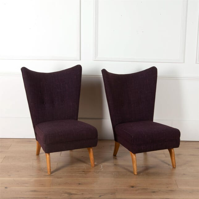Pair of 1950's Howard Keith Bambino Chairs CH5762094