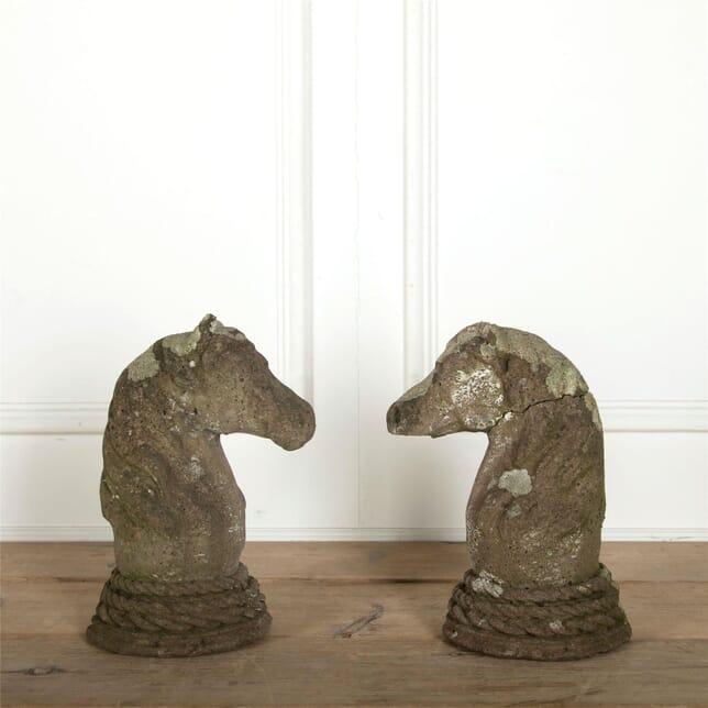 Pair of Horses Heads DA207512