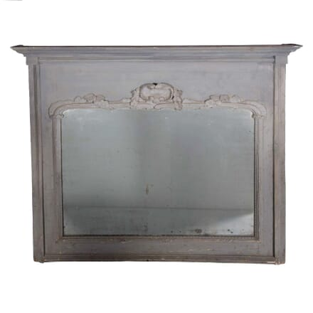 French 18th Century Over Mantle Mirror MI3759093