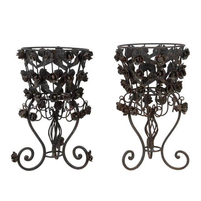 Decorative Iron Jardinieres GA1560375
