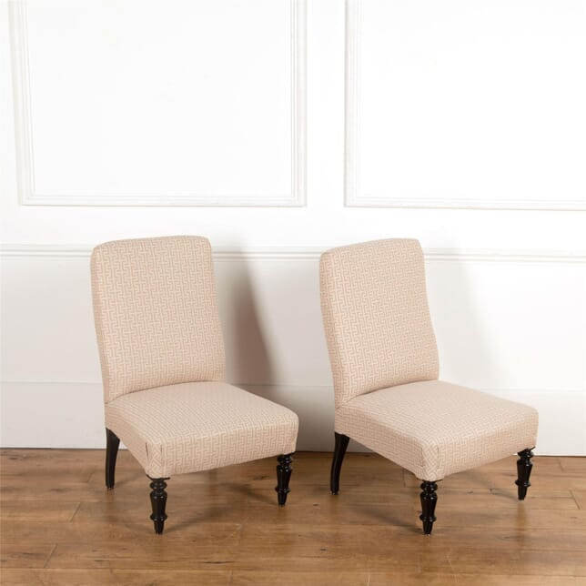 Pair of Slipper Chairs CH637071
