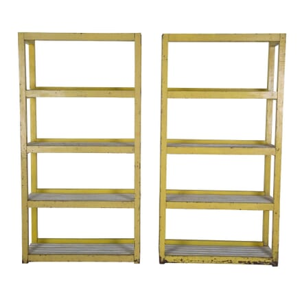 Pair of Pine Industrial Racks OF0856740