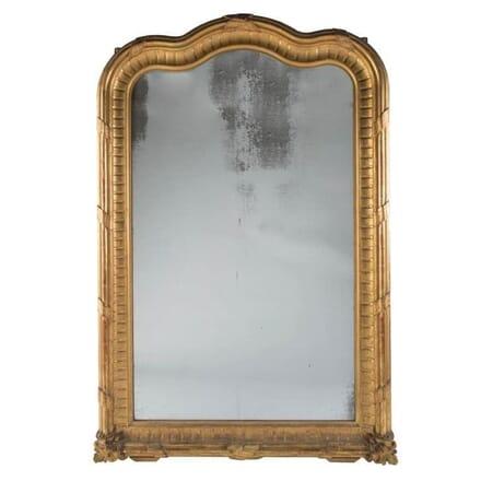Large Italian Gilt Mirror c.1850 MI061813