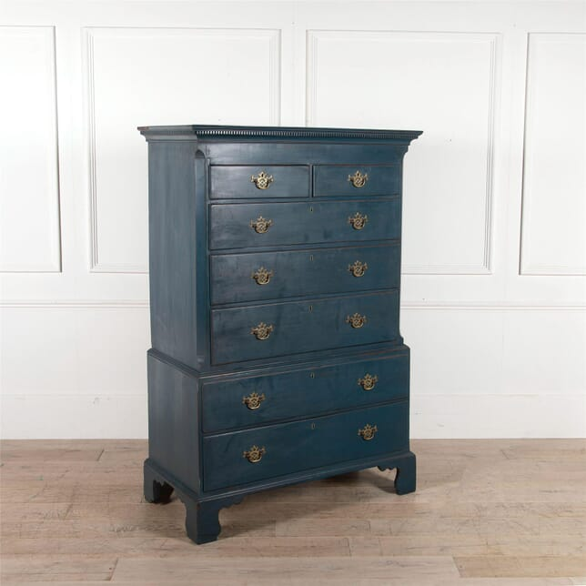 19th Century Painted Chest on Chest CC2062629