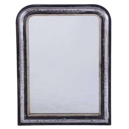 Silver Gilt and Black Louis Philippe Mirror MI7159829