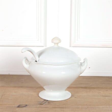 19th Century Creamware Soupier WD6062358