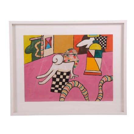 Alan Davie 'The Studio No 1' WD5759522