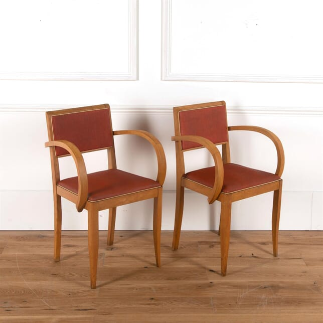 1940's French Bridge Chairs CH2361973