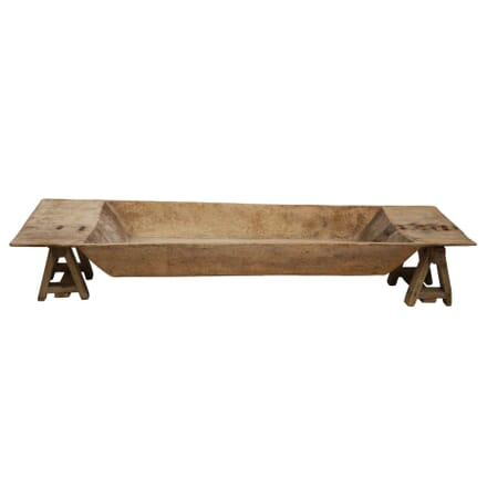 Wooden Dairy Trough with Trestles OF1259238
