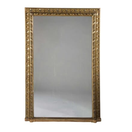 19th Century French Gilt Wood Overmantle Mirror MI9958166