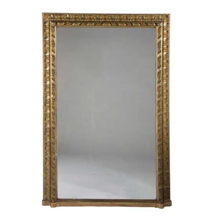 19th Century French Gilt Wood Overmantle Mirror MI9958166