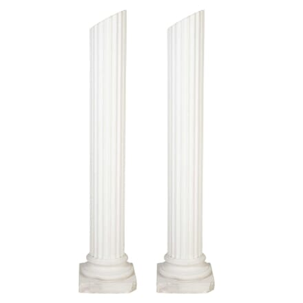 Pair of French Column Uplighters LF4513102
