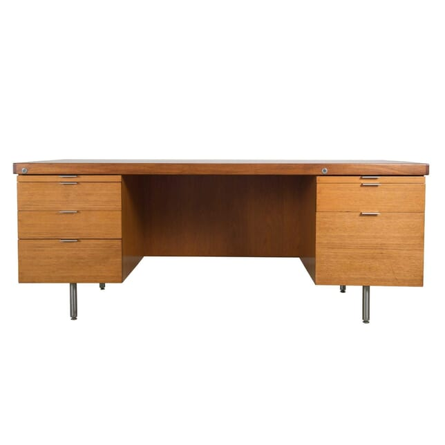 1960s or 70s Modernist Teak Desk DB0557216