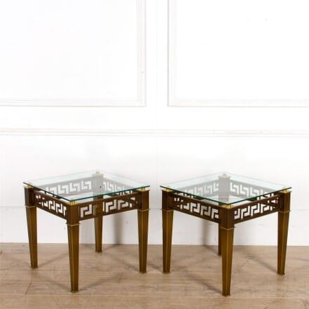 Pair of Greek Key Tables CO307533