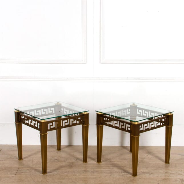 Pair of Greek Key Tables CO307533