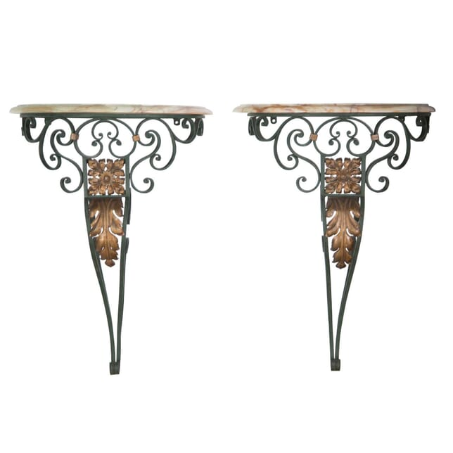 Pair of Wall Mounted Console Tables TC5257142