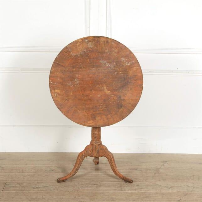 18th Century Swedish Tilt-Top Table TC907663