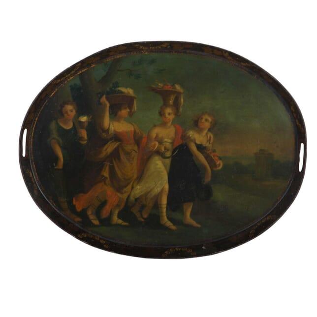 18th Century Toleware Tray DA5113238