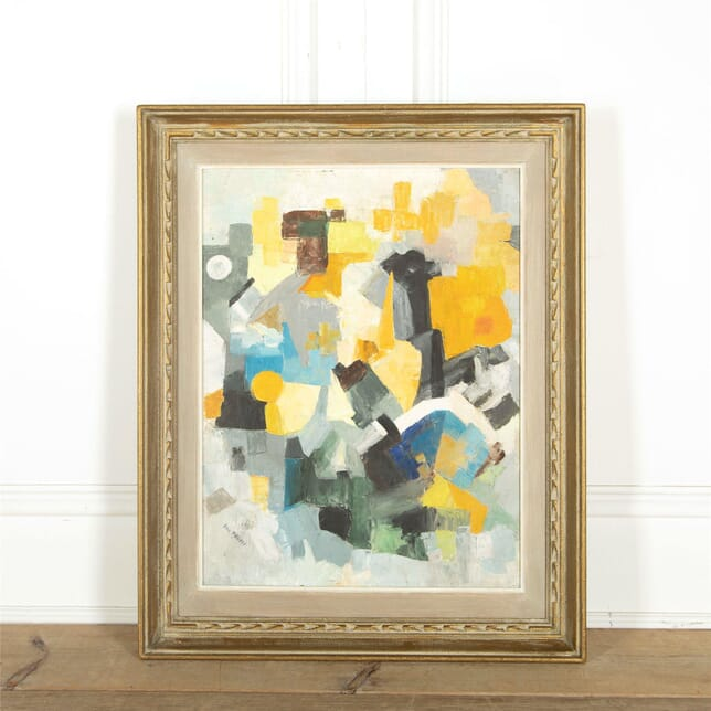 Cubist Abstract Oil Painting WD307605