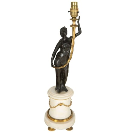 Marble and Bronze Table Lamp LT7260776